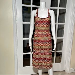 Missoni vintage knit metallic dress